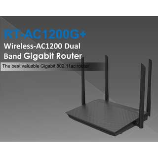 AC1200 Dual-Band Wi-Fi Router with four 5dBi antennas and Parental Controls (RT-AC1200G+)
