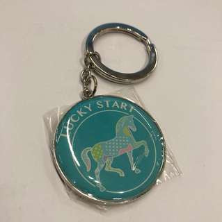 HK Jockey Club Keychain