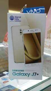 Samsung Galaxy J7+ dijual credit