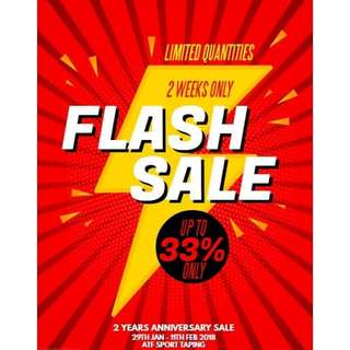 ATF Sports Taping Flash Sale!