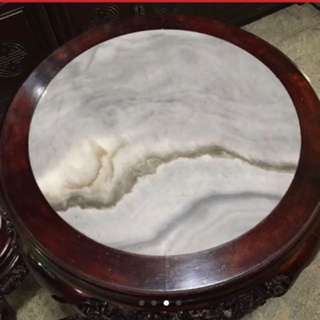 Antique Marble stools 4 pcs
