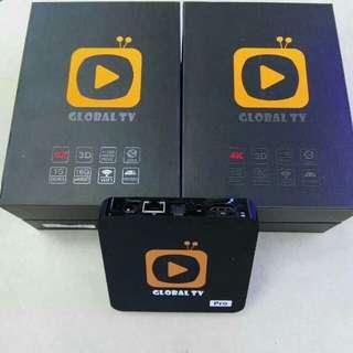 GLOBAL TV BOX 全球直播盒子 16GB ROM 4K LIVE TV LIVE FOOTBALL