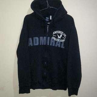 Zipp hoodie admiral