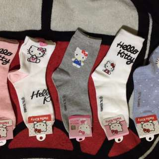 Hello kitty adult socks