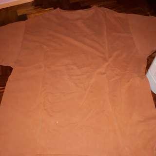 Orange shirt 21x27 inches