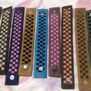 Authentic leather bracelet