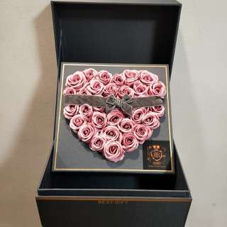 [In-Stock] Pink Fragrance Roses / Soap Roses (32Roses)