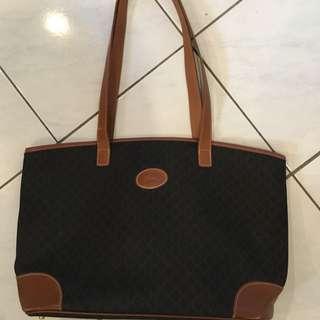 Vintage Authentic Longchamp Tote Bag