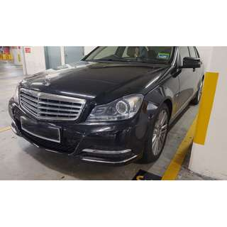 MERCEDES BENZ C200 2012 BLUE EFFICIENCY
