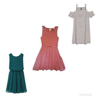 H&M & Uniqlo dresses