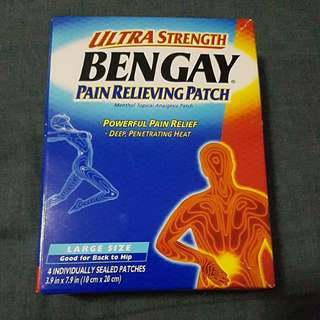 Bengay Pain Relieving Patch