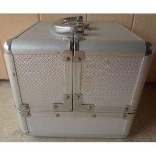 Aluminium Jewellery Box or Cosmetic Box