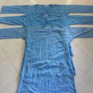 Baju Sekolah Canggih Pengawas Biru