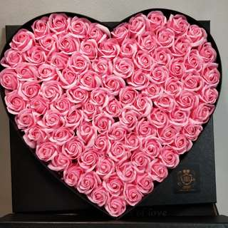 [In-Stock] 99 Pink Fragrance Roses / Soap Roses (99Roses)