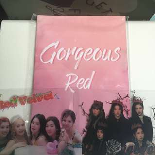 red velvet bar mini photobook.