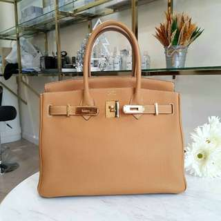 Authentic Hermes Birkin 30