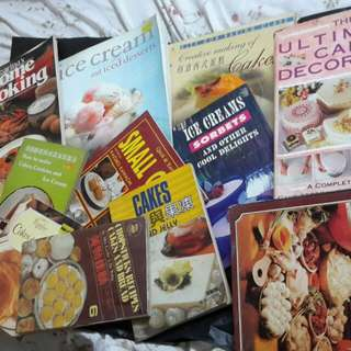 Cooking books mixed  bakeing to cooking to deserts ...worth all for $50 only
