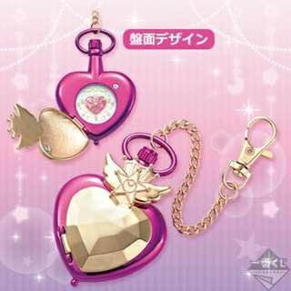[日版現貨] 美少女戰士一番賞 尾賞 豆釘兔懷錶 Sailor Moon Ichiban Kuji Lottery