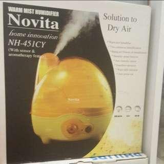Novita Essential oil aroma diffuser/ Air purifier/ Air humidifier