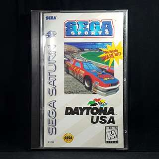 Sega Saturn Daytona USA (Used Game)