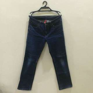 Uniqlo blue jeans