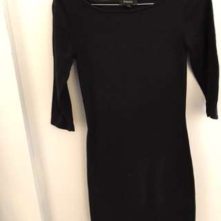 XXS Black Aritzia Babaton Skin Tight Dress