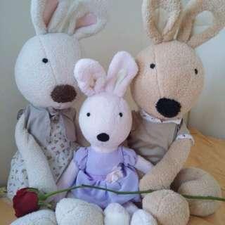 Sweet Rabbit Family
