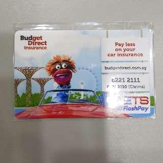 Budget Direct Insurance Nets Flashpay Ezlink Card