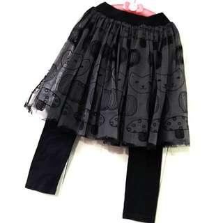 韓組女童兩件式褲裙🌟130公分