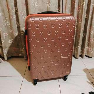 28吋行李箱玫瑰金