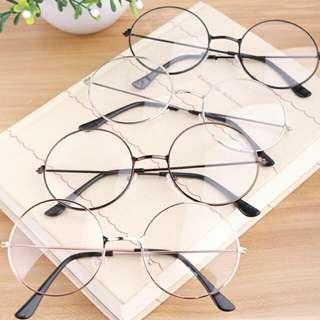 [PO] Fake round glasses