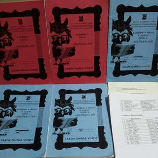 Reduced Secondary school Tamil worksheets