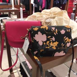 Salvatore ferragamo flower pattern bag crossbody