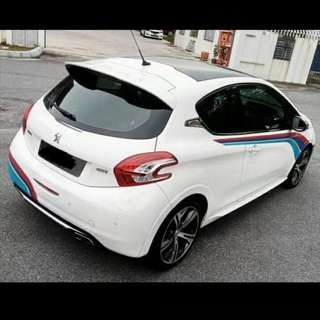 Peugoet 208 gti sambungbayar 10k nego deal until sealed
