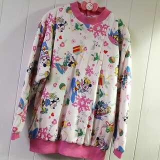 麗嬰房專櫃🌟滿版女童厚棉質衣🌟10歲