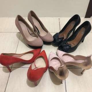 Bundle of 4; Authentic ZARA shoes