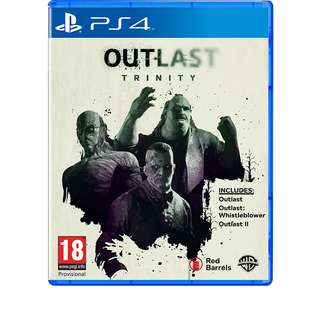 (Brand New Sealed) PS4 Game Outlast Trinity