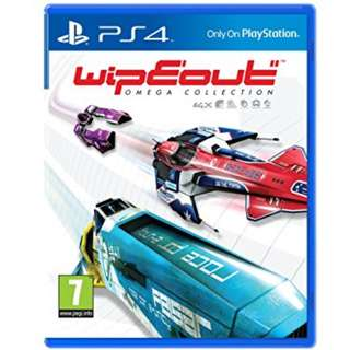 (Brand New Sealed) PS4 Game Wipeout Omega Collection.