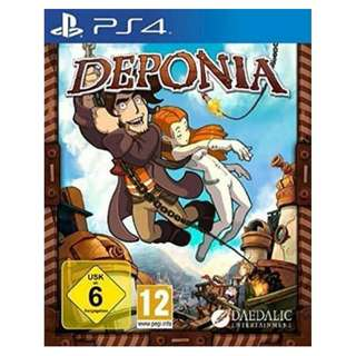 (Brand New Sealed) PS4 Game Deponia