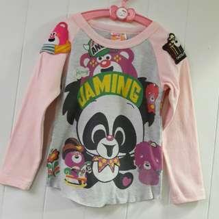 日本潮牌童裝Jam🌟滿版童趣微厚棉衣🌟120公分
