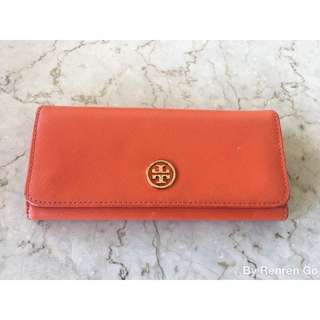 Authentic Tory Burch Robinson Envelope Continental Wallet