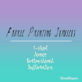 T-Shirt Printing & Others