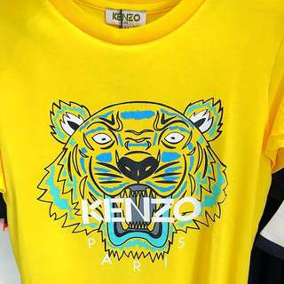 🆕👦🏻SALE🎉🛍 Authentic KENZO TIGER Head Tee for 8 yrs old boy