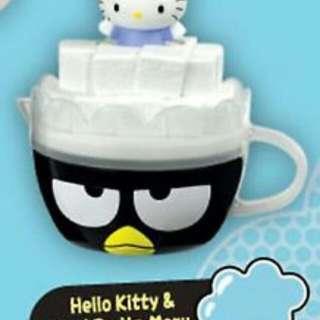 Hello Kitty and Batz Maru McDonalds cup