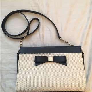 Kate Spade Montfort Straw Bag
