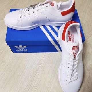 🚚 Adidas Originals Stan Smith 紅白