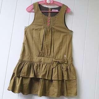 日本正版miki house🌟女童洋裝🌟120公分