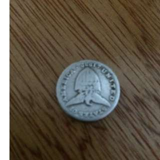 1932 5 centavo coin