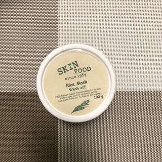 Skinfood White Rice Mask Wash Off