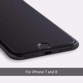 iPhone 7/8 screen protectors 9H